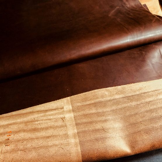 Veg Tan Vacchetta Brown Leather