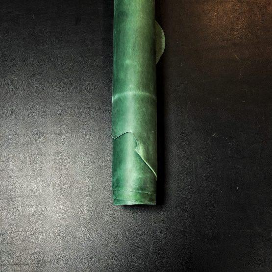 Crazyhorse Green Leather [2.2mm]