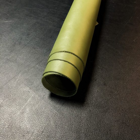 Moss Green Upholstery Leather [1.5mm]