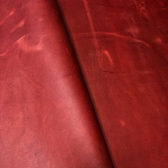 Red Crazyhorse Leather [1.2mm]