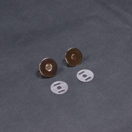Flat Magnet Silver 18mm