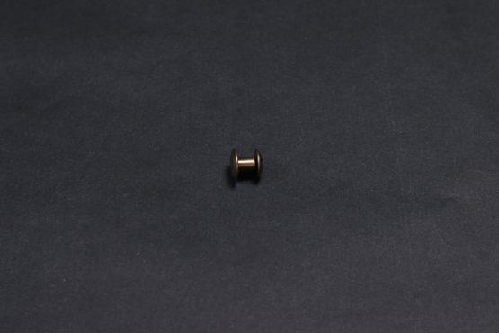 Flat Chicago Srew Old Brass 5mm
