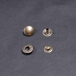 Buttons Old Brass 12.5mm