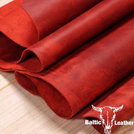Crazyhorse Red Leather