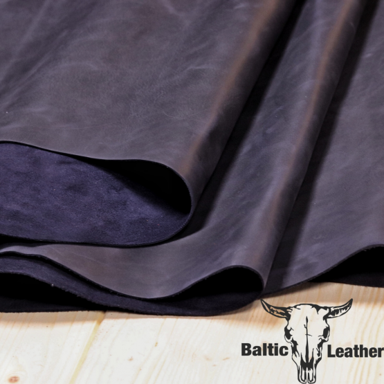 Crazyhorse Blue Leather