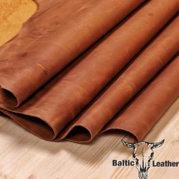 Crazyhorse Hazelnut Leather
