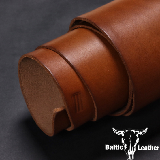 Smooth Oily - Medium Brown Leather