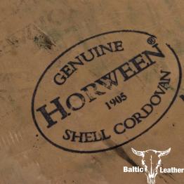 Horween Shell Cordovan - Dark Green