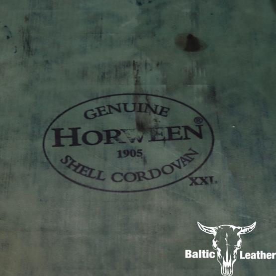 Horween Shell Cordovan - Navy Blue